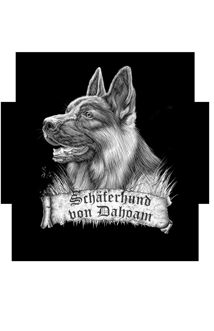 Aufkleber Deutscher Schäferhund Personalisiert Mit Namen Etc