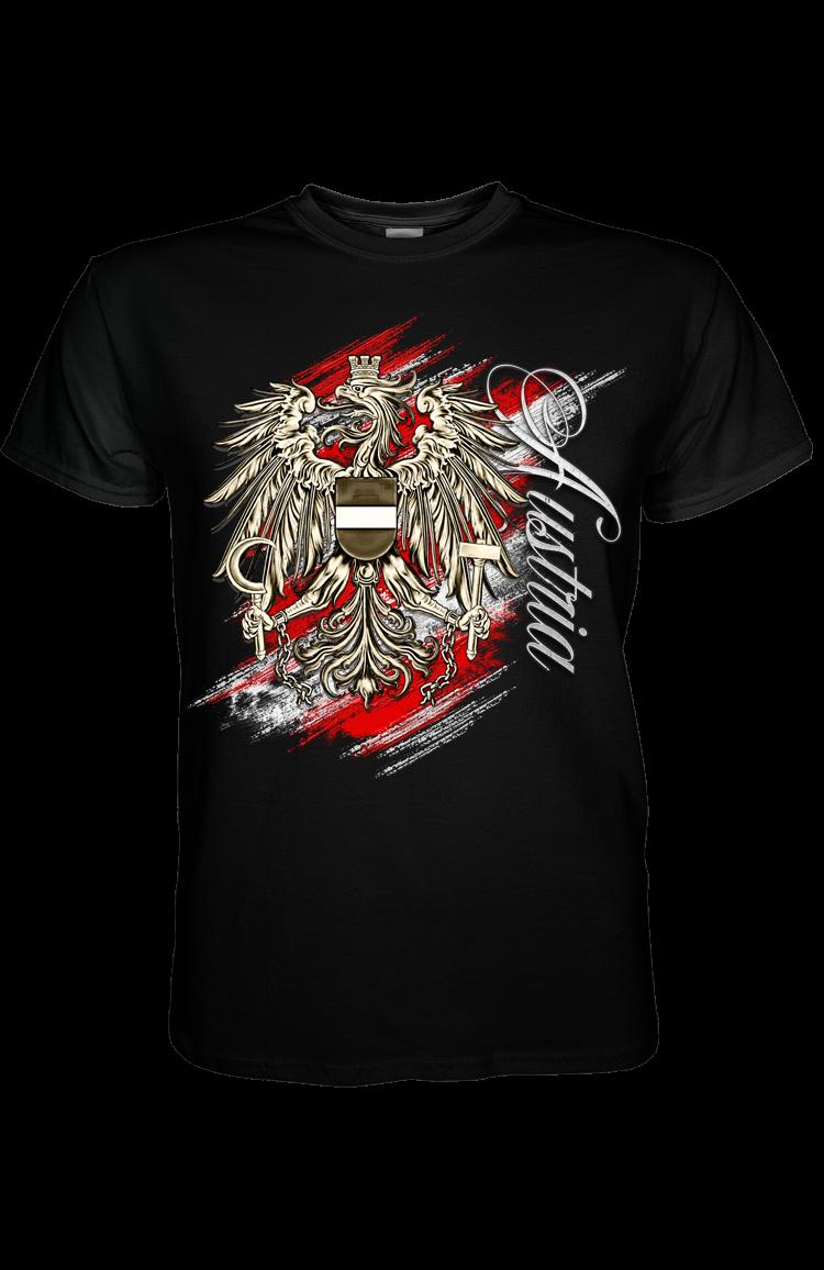 Designer Herren Tshirt – Adler Austria Special   Kreativwerkstatt Tirol 34fdd566a7